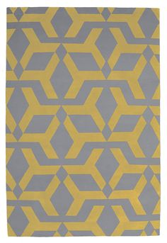 Gaelic Yellow by Alexandra Champalimaud for The Rug Company