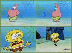 I'm Squidward! I'm Squidward! Squidward! Squidward! Squidward!