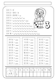 Multiplicação | Atividades Pedagogica Suzano