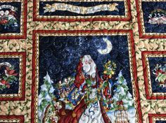 Twelve days of Christmas quilted wall hanging or table runner a partridge in a…