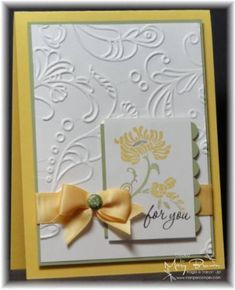 Card made with stampin up set