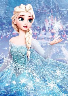Elsa - Frozen. It's funny how only this disney movie has  it's own fandom (that I'm part of) and no disney movie has a fandom. I think it's because it's so different and it has a good vibe with it :)