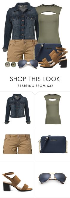 """Untitled #1436"" by gallant81 ❤ liked on Polyvore featuring Bailey 44, Fresh Made, MICHAEL Michael Kors, London Rag, Ray-Ban and Valentin Magro"