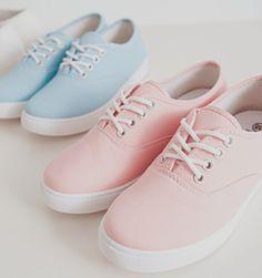 pastels.quenalbertini: Pastel Color Sneakers