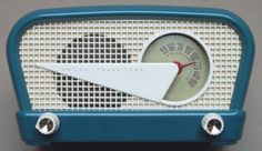 Philco Flying Wedge Radio (1949) http://www.pinterest.com/0bvuc9ca1gm03at/