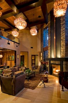 25 Easy Home Interior Design Tips That Anyone Can Implement – HomeDecorateTips High Ceiling Living Room, Spacious Living Room, Home Building Design, House Design, Living Room Designs, Living Room Decor, Interior Design Tips, Design Ideas, Living Room Inspiration