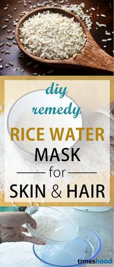How to prepare rice water for skin. Rice water for hair growth. 8 Benefits of rice water for skin and hair. DIY Rise water mask.
