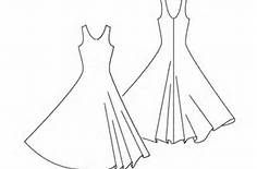 Printable Barbie Clothes Templates - Bing Images