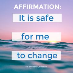 The Butterfly Witch - Affirmations for Life Changes