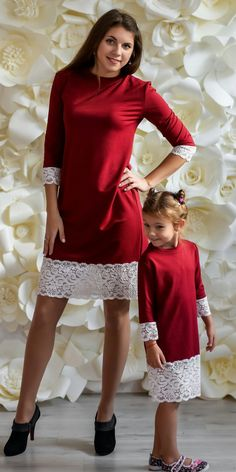 Mother daughter matching dress Warm jersey marsala dresses, Different colors Mommy and me outfit Dress for mother and daughter Mom baby Mommy Daughter Dresses, Mommy And Me Dresses, Mother Daughter Dresses Matching, Mother Daughter Fashion, Mommy And Me Outfits, Mom Daughter, Twin Outfits, Dress Outfits, The Dress