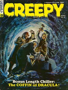 Cover for Creepy (1964 series) #8