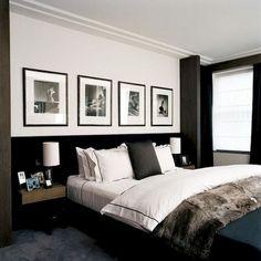 Small room bedroom, bedroom art above bed, small rooms, home bedroom, Couple Bedroom, Small Room Bedroom, Trendy Bedroom, Home Decor Bedroom, Modern Bedroom, Diy Bedroom, Decor Room, Bedroom Suites, Bedroom Black