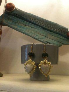 cuori pomice LOVE Drop Earrings, Bracelets, Gold, Jewelry, Home, Jewlery, Jewerly, Schmuck, Drop Earring