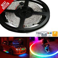 NDFS-150CK series Dream-Color Chasing RGB LED Flexible Light Strip