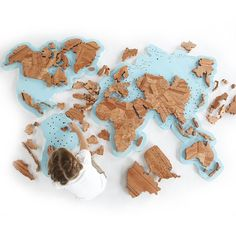 Wooden World Map Puzzles World Map Puzzle, 5 Minute Crafts, Gingerbread Cookies, Diy Room Decor, Fascinator, Easy Crafts, Life Hacks, Geography, Puzzles