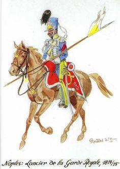 Lanciere della guardia del regno di Napoli