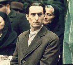 Deniro as Vito Corleone... great style never really changes...