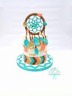 Dreamcatcher cake