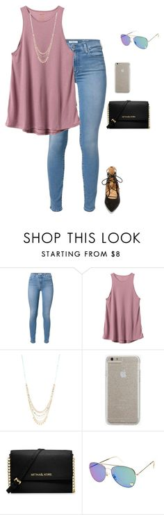 """""""fortune cookies don't lie"""" by jackelinhernandez ❤ liked on Polyvore featuring 7 For All Mankind, RVCA, Lane Bryant, Case-Mate, MICHAEL Michael Kors and Liliana"""