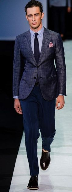 Mis favoritos... Giorgio Armani Mens Collection SS14