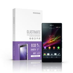 SIEGE - Glastimate Premium Tempered Glass Screen Protector for Sony Xperia Z