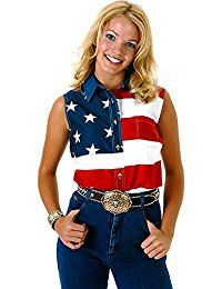 New Roper Women's Sleeveless American Flag Western Shirt Plus - 03-052-0185-0101 RE_X online. Find the perfect Banned Tops-Tees from top store. Sku BBUM40146WYST22005