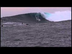 Grant Baker at Cortes 2 - Ride of the Year Entry - Billabong XXL Big Wave Awards 2013