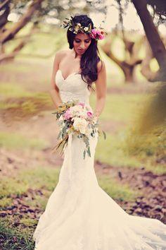 Photography: Tamiz Photography - tamizphotography.com #maui #hawaii Read More: http://www.stylemepretty.com/2014/08/29/boho-chic-maui-wedding/