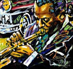 One Of A Kind Artwork Painting - 50's Jazz by Jonathan Tyson