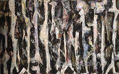 Promenade 1947 by Lee Krasner Abstract Words, Abstract Art, Hans Arp, Gilbert & George, Lee Krasner, Robert Mapplethorpe, Jasper Johns, Art Students League, Famous Art