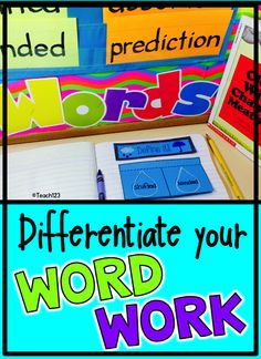 Ask any teacher what one of the top 5 stresses of his or her job is and you will hear, meeting the needs of a wide variety of ability levels.  There is a quick and easy way to differentiate your word work center.  Click to read more about this and other tips. Also include paid link.