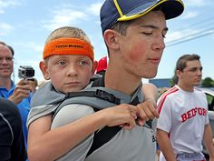 Michigan Teen Walks 40 Miles Carrying Brother for Cerebral Palsy Awareness