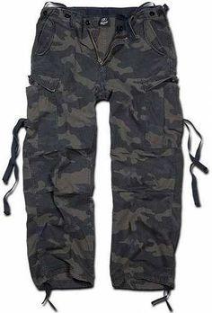 Prezzi e Sconti: #Brandit m-65 vintage pantaloni camouflage  ad Euro 34.00 in #Brandit #Pantaloni uomo