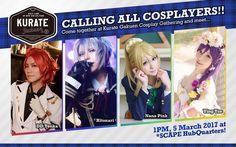 Cosplay Fun at Kurate Gakuen Cosplay Gathering - http://wowjapan.asia/2017/03/cosplay-fun-kurate-gakuen-cosplay-gathering/