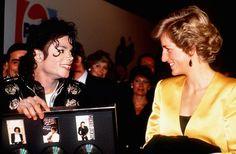 Michael Jackson&Lady Diana
