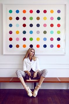 Dots on Dots on Dots. #model #beauty #fashion #photography #style #hip #hippie #hipster #boho #love #cute #girly