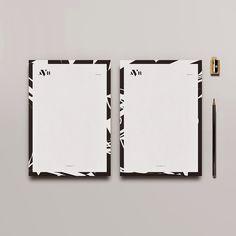 AVB #whiskeymentine #logo #artdirection #blackwhite #texture #rome #paper #brandidentity