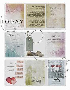Cards no1  Beach vacation  Plastic pockets  Swirls no1  Whiter than white   All Erica Zwart designz