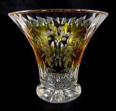 Vase, Siegfried Haertel, Josephinenhütte, Art Deco