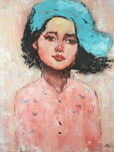 "Saatchi Art Artist Miruna Cojanu; Painting, ""Another Little One"" #art"