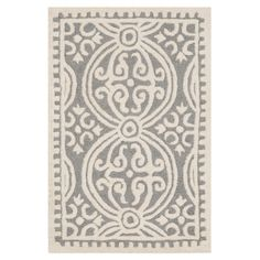 Cathay Rug in Silver