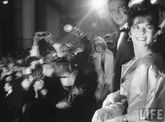 """""""Wood and Beatty attend the Oscars arm-in-arm, surrounded by cameras, and when Wood loses Best Actress to Sophia Loren, gossip maven Hedda Hopper exclaimed """"Natalie Wood was robbed! But at least she got the nicest consolation prize — Warren Beatty."""""""""""