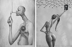 These+15+Drawings+Are+An+Incredible+Reflection+Of+What's+'Wrong'+With+Society