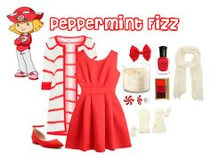Designer Clothes, Shoes & Bags for Women Strawberry Shortcake Halloween Costume, Strawberry Shortcake Characters, Trio Halloween Costumes, Halloween Ideas, Storybook Character Costumes, Creepypasta Oc, Character Inspired Outfits, Teenage Girl Outfits, Christmas Outfits
