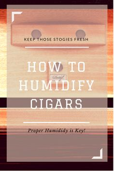 Cigars are truly one of life's greatest pleasures and like any other finely crafted work of art, do require the proper care. Most importantly is, of course, humidification. With a wide variety of humidors and their respective humidification devices available to aficionados these days, caring for your cigars is easier than ever.