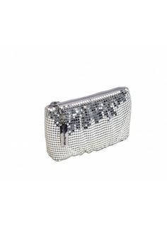 GLITTER - TIPTHARA #clutch #tipthara #accessories #fashion #mode #women #femme #gliter #argenté