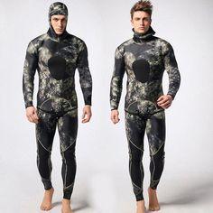 df405f60c 2PCS Men Diving Suit Neoprene 3mm Spearfishing Wetsuit Surf Snorkel  Swimsuit M72 (eBay Link)