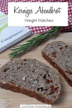Weight Watchers kerniges Abendbrot ohne Backmischung #WeightWatchers #Abendbrot #WeightWatchersBrot Banana Bread, Easy Peasy, Desserts, Recipes, Party Ideas, Finger Food, Cool Recipes, Oat Cookies, Proper Tasty