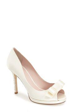 090ab8808282 kate spade new york  felisha  peep toe pump (Women) Peep Toe Heels