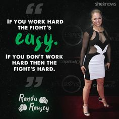 Click to see more powerful quotes from Ronda Rousey that are sure to motivate you!